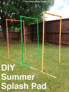 DIY Summer Splash Pad