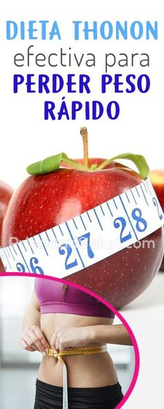 Dieta Thonon para adelgazar 10 kilos, resultados rápidos e increíbles My Diet Plan, Healthy Menu, Light Recipes, Home Remedies, Watermelon, Detox, Health Fitness, Weight Loss, Fruit