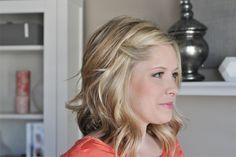 mittellange Haare Frisur nicht über Augen