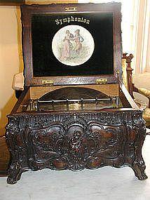 Symphonion Rococo Music Box.