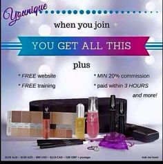 Join my team. Im looking for enthusiastic ladies to help me share my love of these fantastic products   All training is provided #younique #workfromhome #beyourownboss