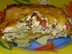 Мои вкусняшки: Запеканка картофельная с рыбкой