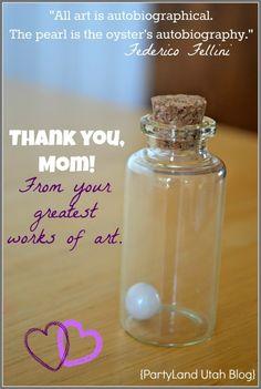 Mothers Pearls Tutorial {PartyLand Utah Blog}