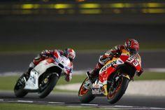 MotoGP. Маркес и Педроса возглавляют зачётный лист практики в первый день в Аргентине | GP RACING