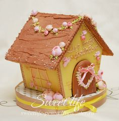 GINGERBREAD HOUSE~ SPRING GINGERBREAD HOUSE