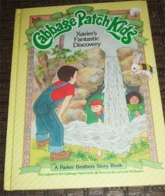 Cabbage Patch Kids Book by VintageRainbowShop on Etsy, $6.00