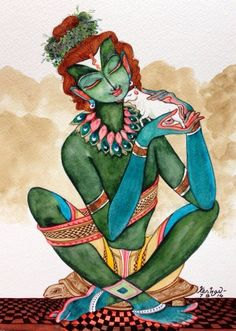 The one who loves all... Krishna :)
