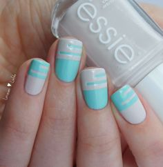 Essie Blossom Dandy Urban Jungle Cut Out Nagel Design