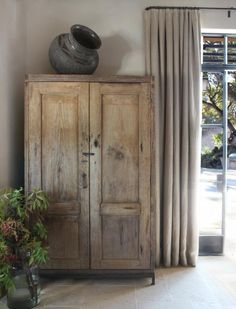 Nicole Hollis, Sonoma: Remodelista - Antique Amoire from Guatamala