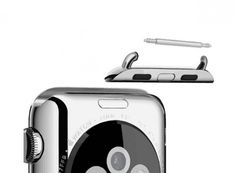 Universal Apple Watch WATCHAPTER #applewatch Adapter für herkömmliche Armbänder an der Apple Watch