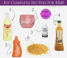 kit completo no poo 40 reais 2