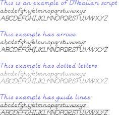 D&#39Nealian Handwriting Worksheet Maker - Sentences | Homeschool ...