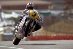 Mick Doohan over the hill at Jarma
