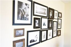 Lots O' Pictures + Lots O' Frames | Our Footprints…..