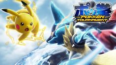 I give you Pokken Tournament. The arcade style fighting Pokemon game we've all been waiting for. Pokken Tournament is Produced byBandai Namco Entertainmentand is the love child of Tekken and Pokemon.