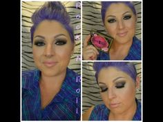 Eye Makeup Tutorial, Using the Too Faced Rock N Roll Palette - YouTube