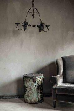 Pure Original Fresco Lime Paint Kalkverf kleur Earth Stone cred De Potstal Source by lesliestocker Wall Colors, House Colors, Paint Colors, Fresco, Interior Walls, Interior Design, Greige, Lime Paint, Shabby