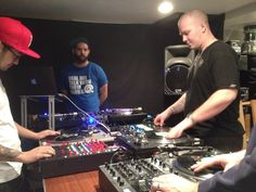 Scratch session at the DMC champ's house. #DJ #turntablism @vekked by chasemarch http://ift.tt/1HNGVsC