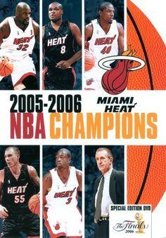 NBA Champions 2006: Miami Heat [DVD] [2014]