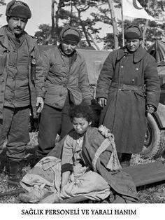 Kore Savaşı Fotoğrafları - Korean War Photos - Turk Askerleri - Turkish Army - Sağlıkla ilgili resimler - Health Service 16