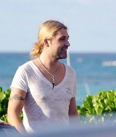 David Garrett on vacation