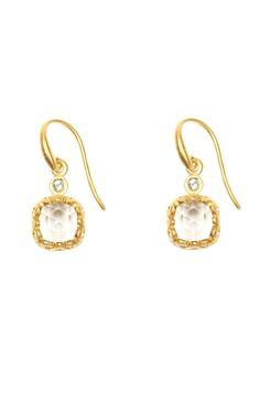 Nicole Miller  Renata Mini Stone Earrings