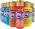 Americana has glazes that will permanently stain glass, ceramic or plastic. Perfect for transforming mason jars or other projects