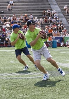 You can tell they share DNA---Peyton and Eli Manning.