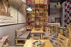 Alaloum Board Game Cafe in Athens by Triopton Architects