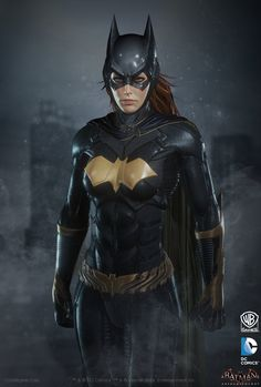 ArtStation - Batman: Arkham Knight DLC, Batgirl Render, Christopher Cao