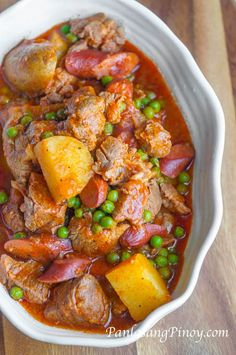 Easy Pork Afritada Recipe