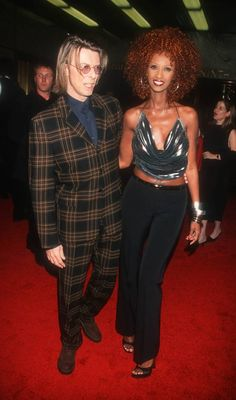 18 photos of Iman and David Bowie that show just how in love they were | Metro News