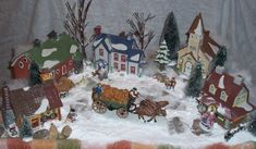 Detailed Displays for Your Dept 56 Houses - Dept56Displays...for the FARM AREA.