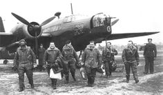 301 Polish Bomber  Squadron RAF Swinderby England 1941. The Polish Airmen kicked the crap out of the German fighters.