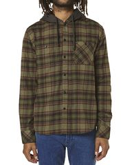 QUIKSILVER LAYSAN LS MENS SHIRT - DUSTY OLIVE on http://www.surfstitch.com