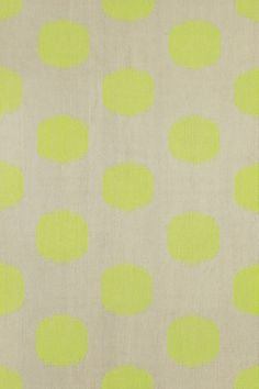 The Spots style is a new wool, transitional rug design from Genevieve Gorder and Capel Rugs. Spots rugs have a flat woven construction.