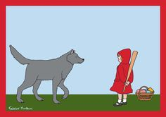 Little Red Riding Hood.. Self-Defence by Federico Monzani