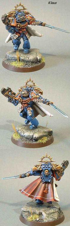 Ultramarine Captain Ardias 3rd Company