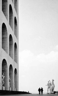 Rome, 1955  © Elio Ciol