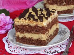 Druh receptu: Sladkosti - Page 31 of 326 - Mňamky-Recepty. No Cook Desserts, Summer Desserts, Dessert Recipes, Tiramisu, Ale, Food And Drink, Sweets, Biscuit, Baking
