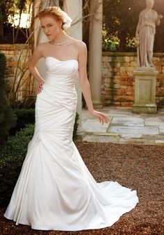 Check out this #weddingdress: 2037 by Casablanca Bridal via iPhone #TheKnotLB from #TheKnot