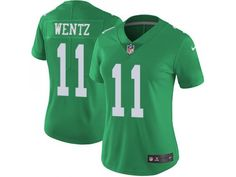 6be785f245d Women's Limited Carson Wentz Nike Green Jersey - NFL Philadelphia Eagles  Rush Shop Sports Merchandise with Big Discounts at Cheap Jerseys Supplier  Online ...
