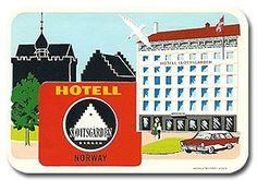 HOTEL SLOTTSGARDEN - BERGEN Hotel label of Norway