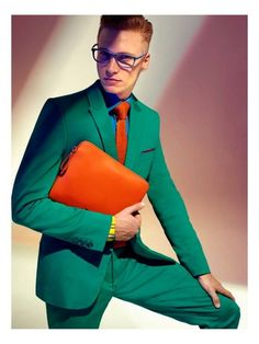 'Colors on Trend' by Stefano Moro Van Wyk for GQ South Africa