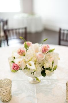 #centerpiece  Photography: Brita Photography - britaphoto.com  Read More: http://www.stylemepretty.com/2014/07/18/elegant-augusta-wedding/