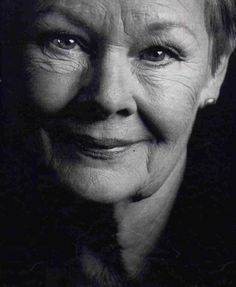 judy dench black and white - Google Search