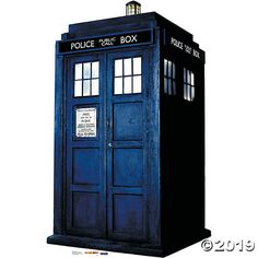 The Tardis Stand-Up. When you want your decorations to stand out, choose a Stand-Up! Perfect for a Doctor Who theme party, this The Tardis Stand-Up is the . Doctor Who Tardis, Eleventh Doctor, Diy Locker, Doctor Who Quotes, Police Box, Oriental Trading, Dr Who, Stand Up, Party Supplies