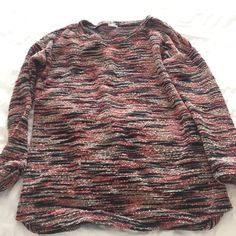 Multi colored marled sweater urban outfitters xs Over sized sweater so cute and comfy xs Urban Outfitters Sweaters Crew & Scoop Necks