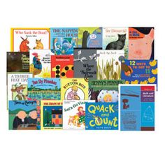 Math and Literature Book Set: Grades K-1