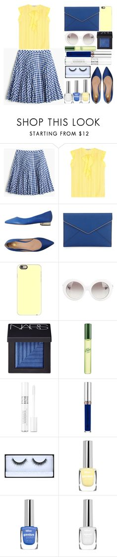 """""""Simple Set"""" by juliehalloran ❤ liked on Polyvore featuring J.Crew, Emilio Pucci, 8, Rebecca Minkoff, Casetify, Versace, NARS Cosmetics, DKNY, Christian Dior and Anastasia Beverly Hills"""
